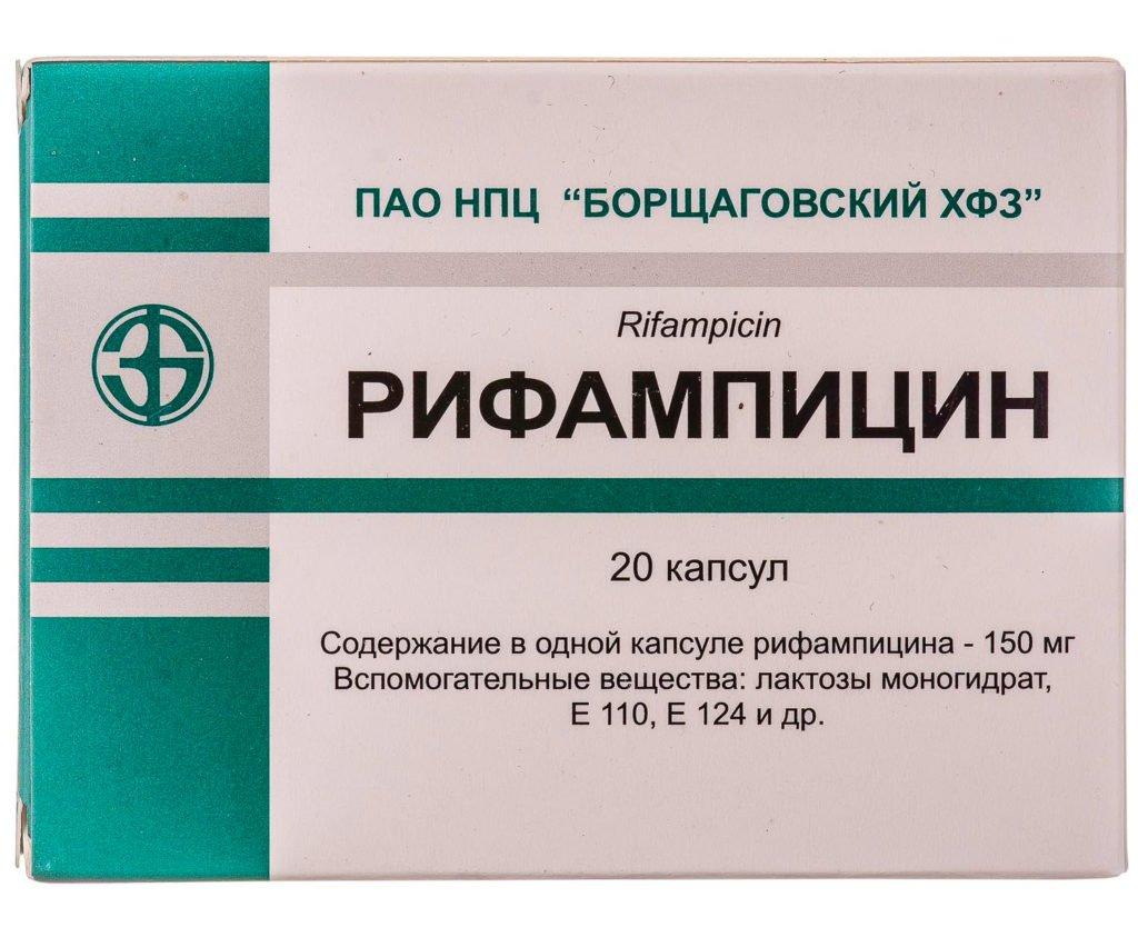 Рифампииин при туберкулезном лимфадените