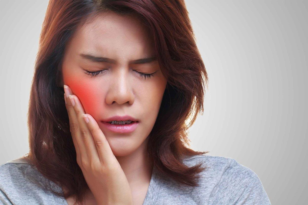 Боль околоушных лимфоузлов