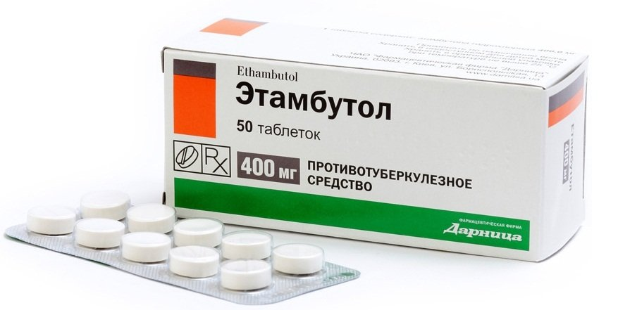 Этамбутол при туберкулезе лимфоузлов у детей