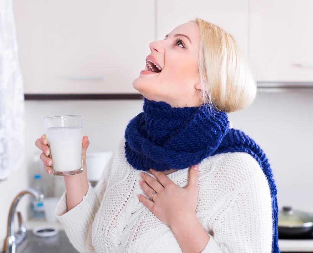 Лечение лимфоузлов при ангине