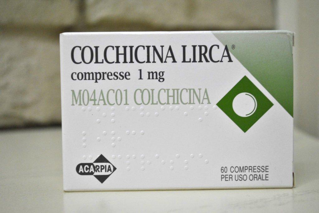 Колхицин для лечения лимфаденопатии ворот печени