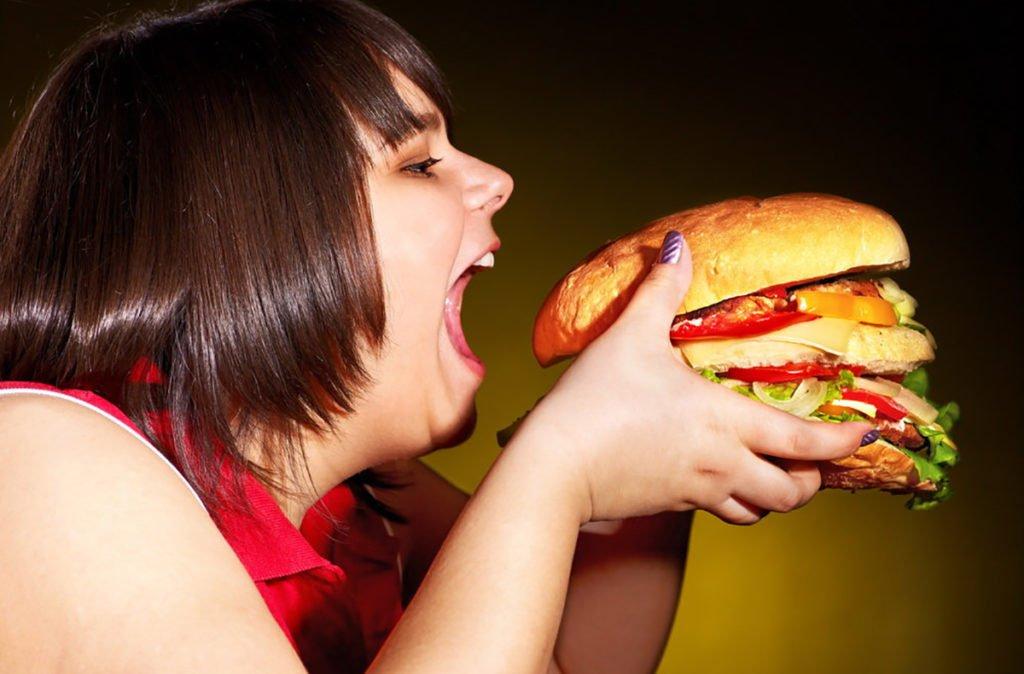 Воспаление лимфоузлов из-за неправильного питания