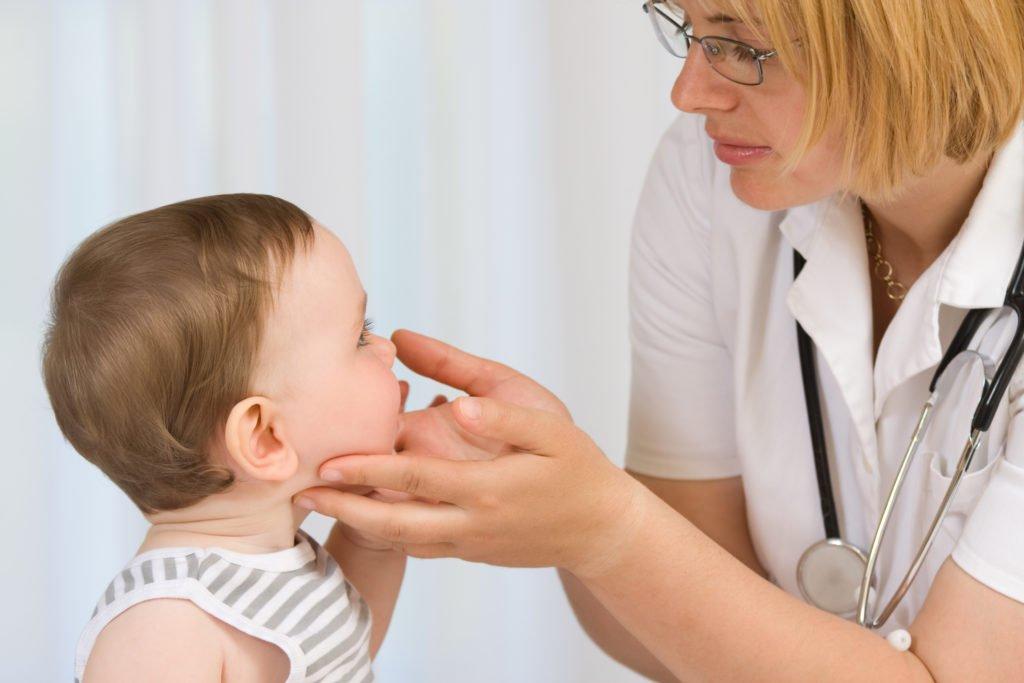 Лимфаденопатия шейных лимфоузлов у ребенка