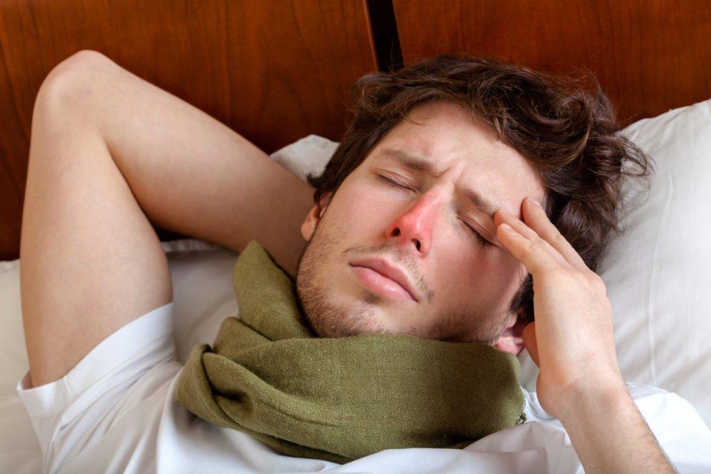 Побочные эффекты после прогревания лимфоузлов
