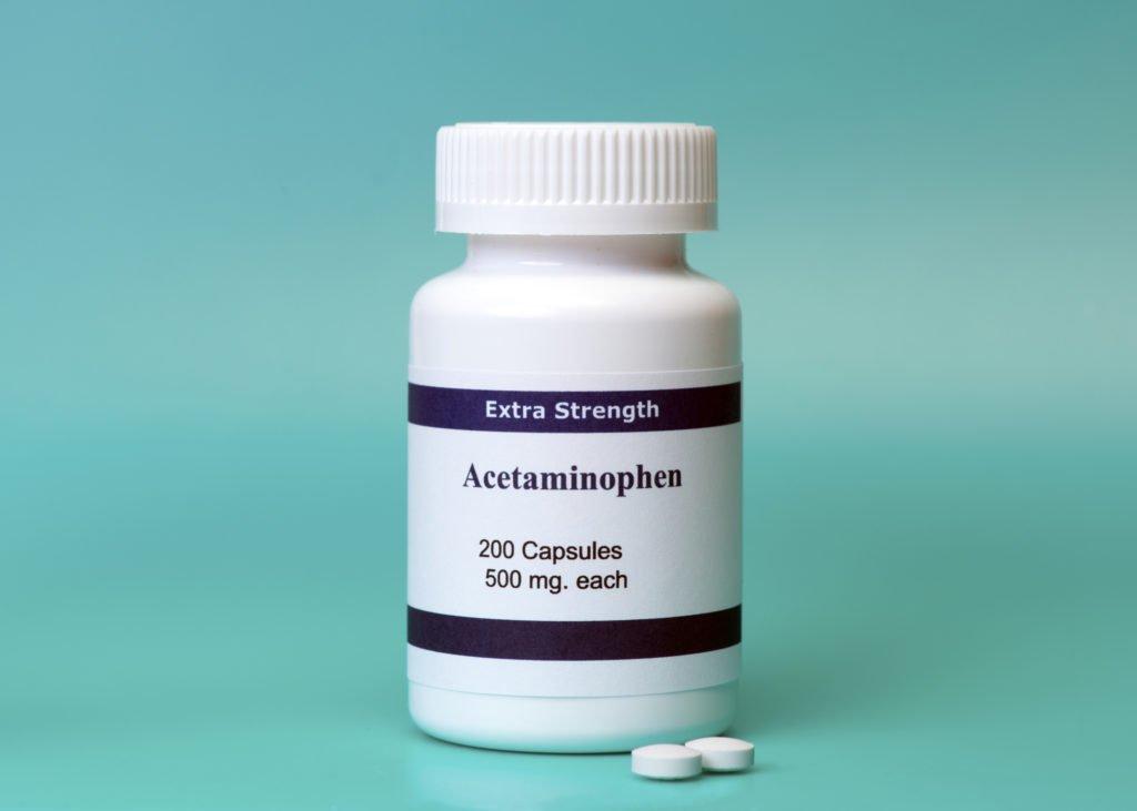 Ацетаминофен при воспалении лимфоузлов
