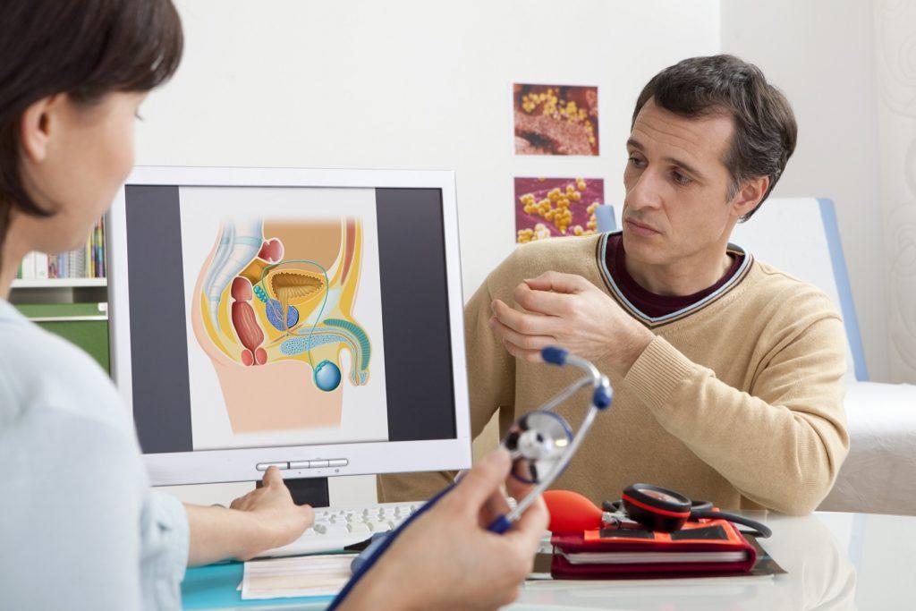 Лечение паховых лимфоузлов у мужчин