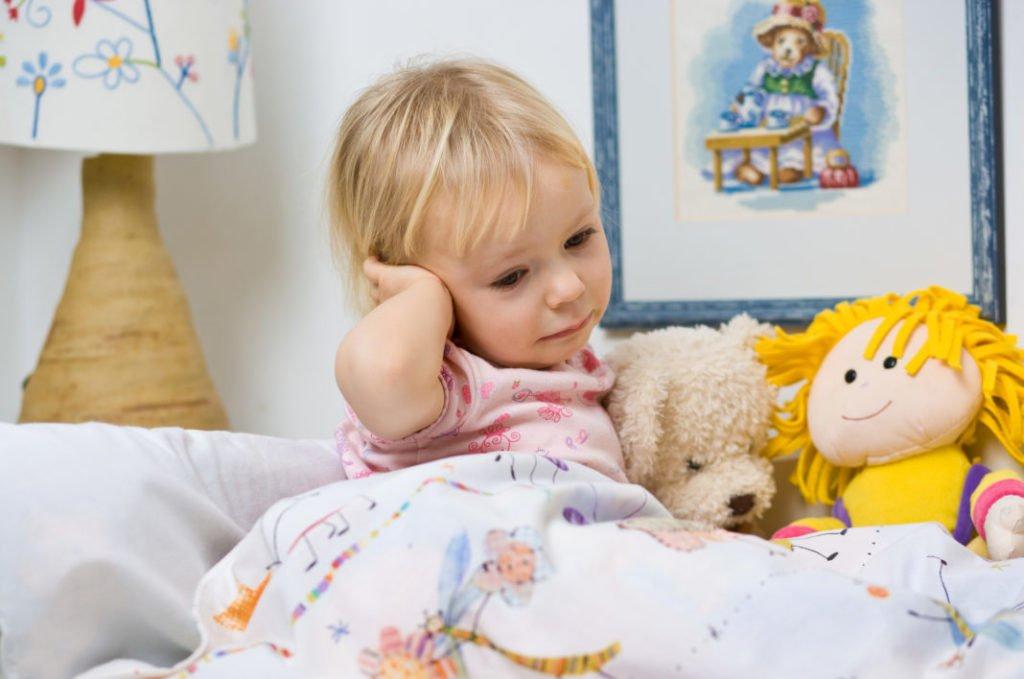 Лимфоузел за ухом у ребенка: причины увеличения и варианты лечения