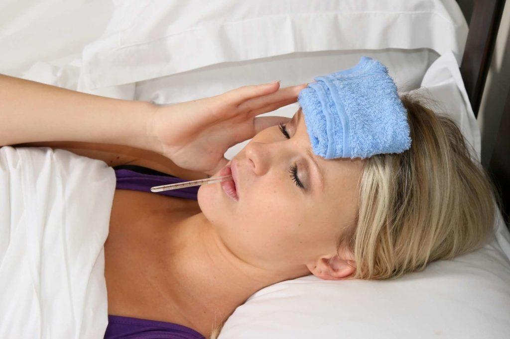 Повышенная температура при патологии селезенки