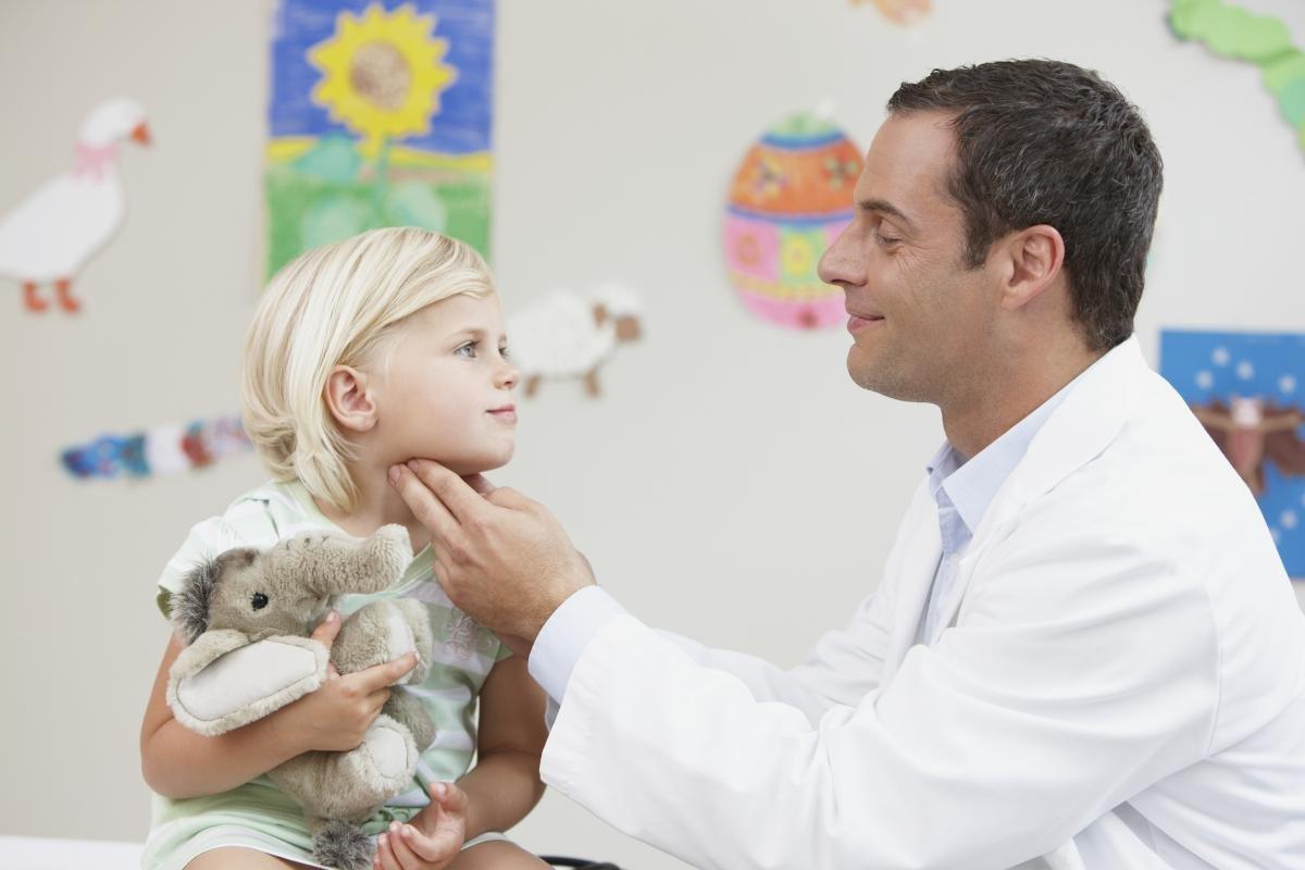 Местное увеличение лимфоузлов на голове у детей