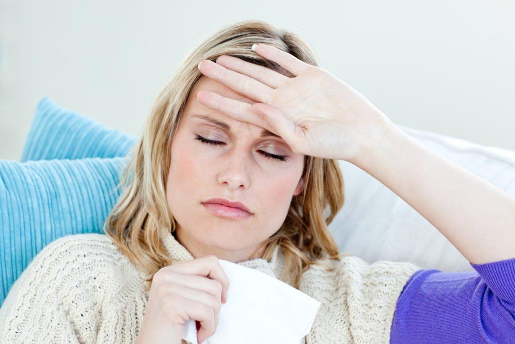 Симптомы при мезадените