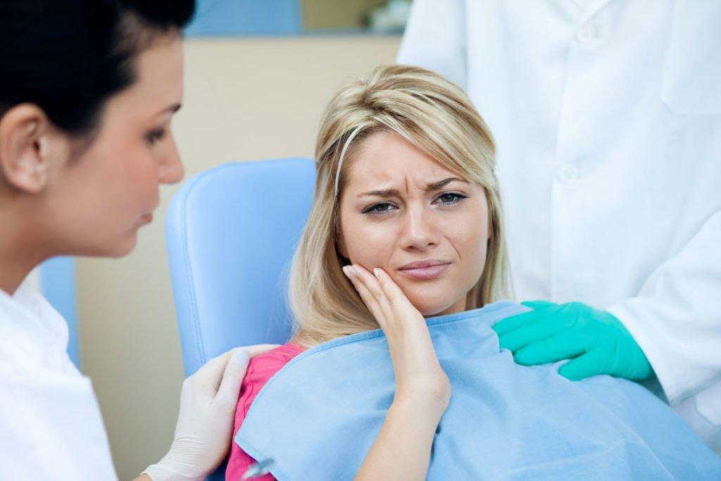 Лимфоузлы от зубов
