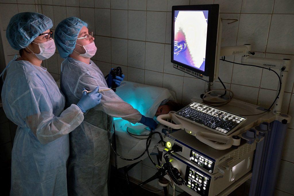 Эндоскопическое исследование при лимфангиэктазии