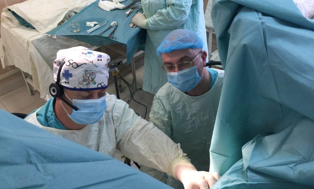 Операция по удалению лимфоузлов пораженных раком