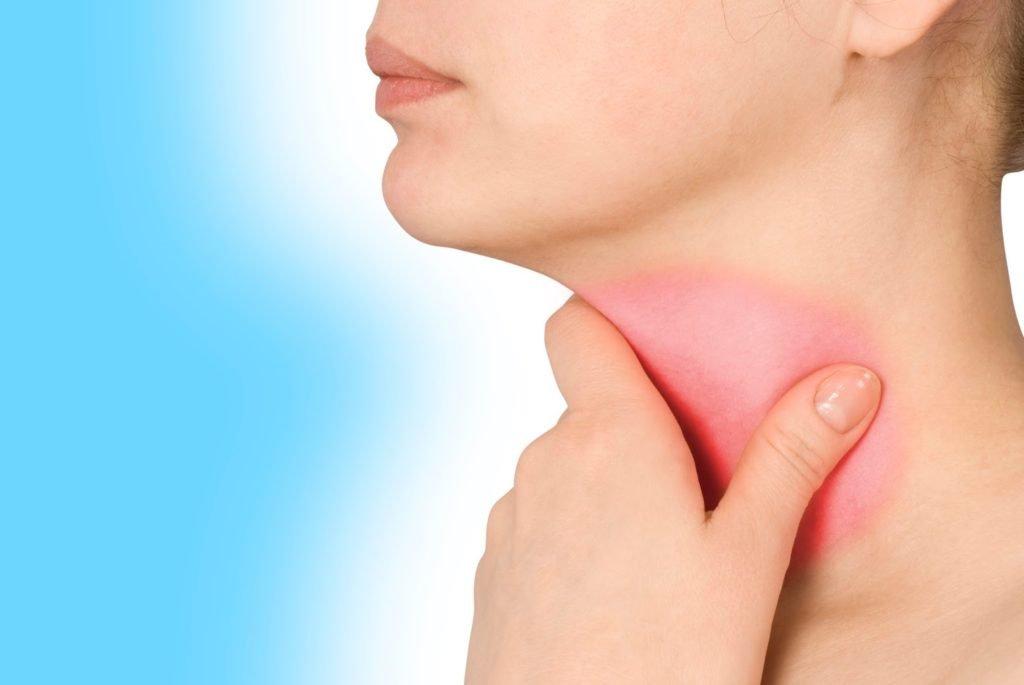 Симптомы воспаления шейных лимфоузлов
