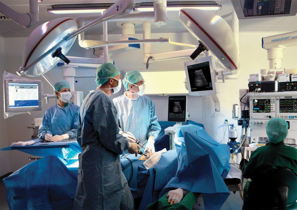 Операция по удалению лимфоузла
