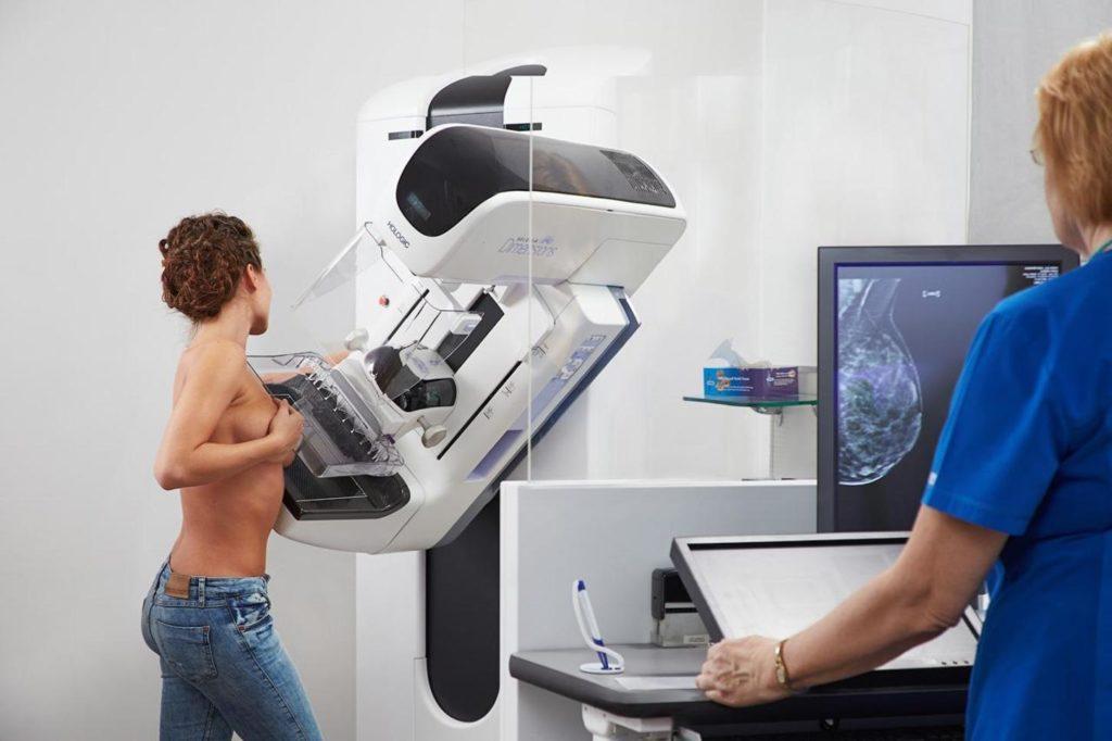 Диагностика воспаленных лимфоузлов с помощью маммографии