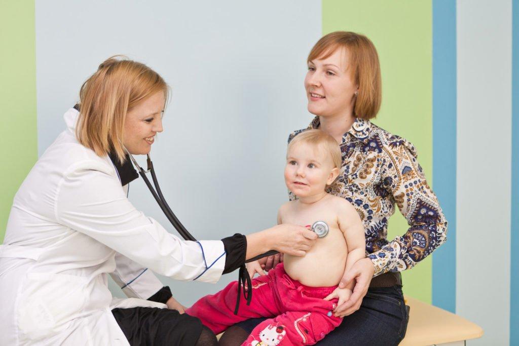 Лечение лимфоузлов у детей