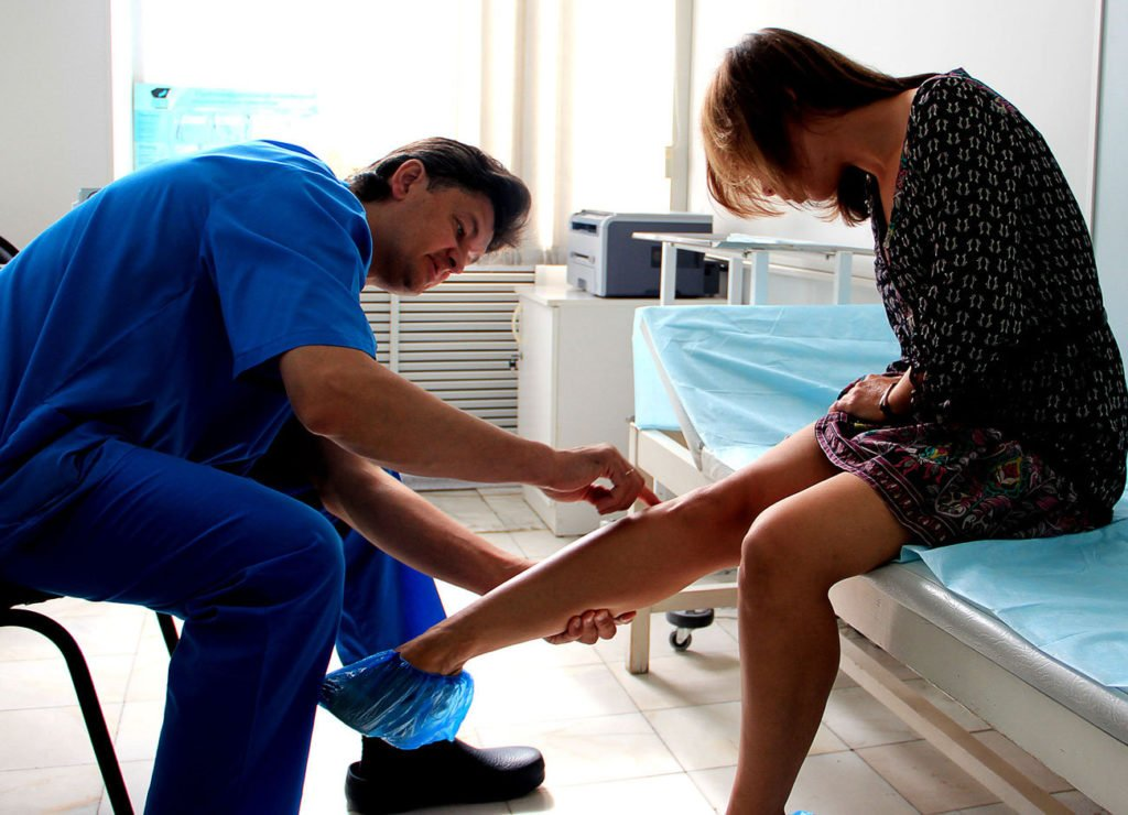 Причины воспаления лимфоузлов на ногах