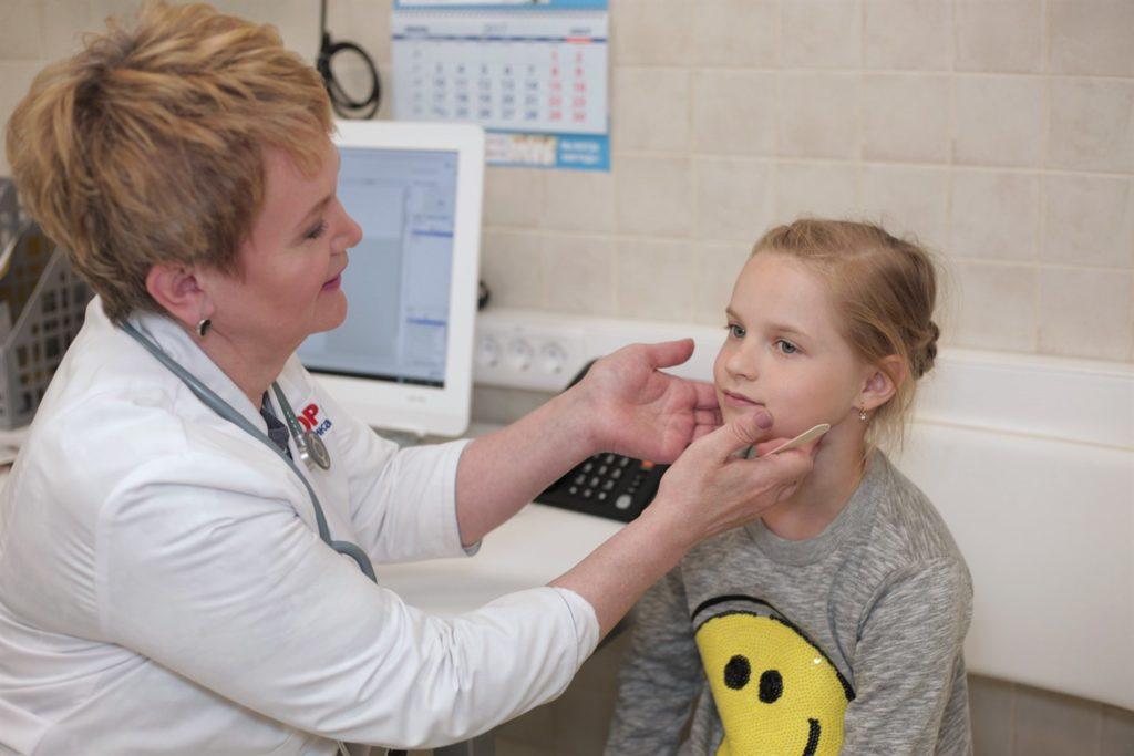 Лимфоузлы у ребенка: расположение и причины воспаления