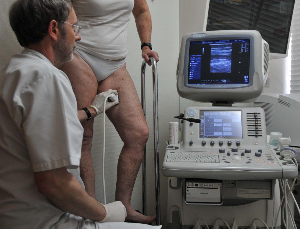 Диагностика лимфатических сосудов с помощью допплерографии