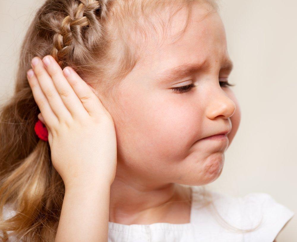 Увеличение подчелюстных лимфоузлов у детей вследствие отита