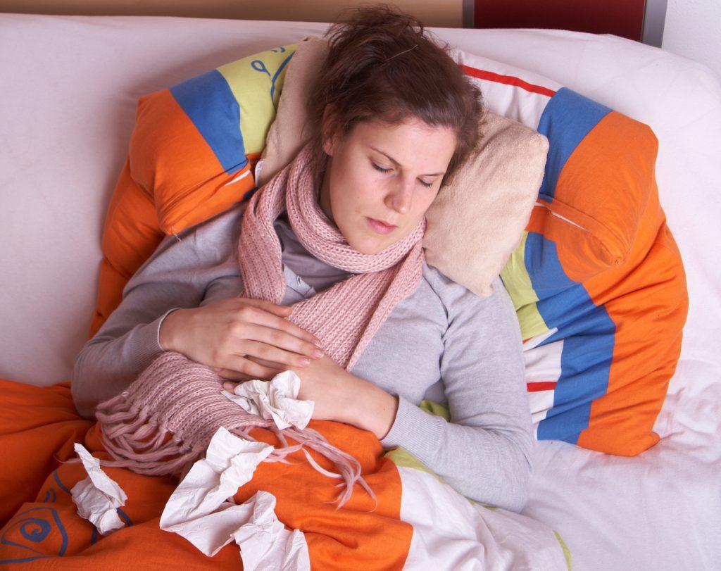 При инфекционном воспалении температура может повышаться свыше 38 градусов