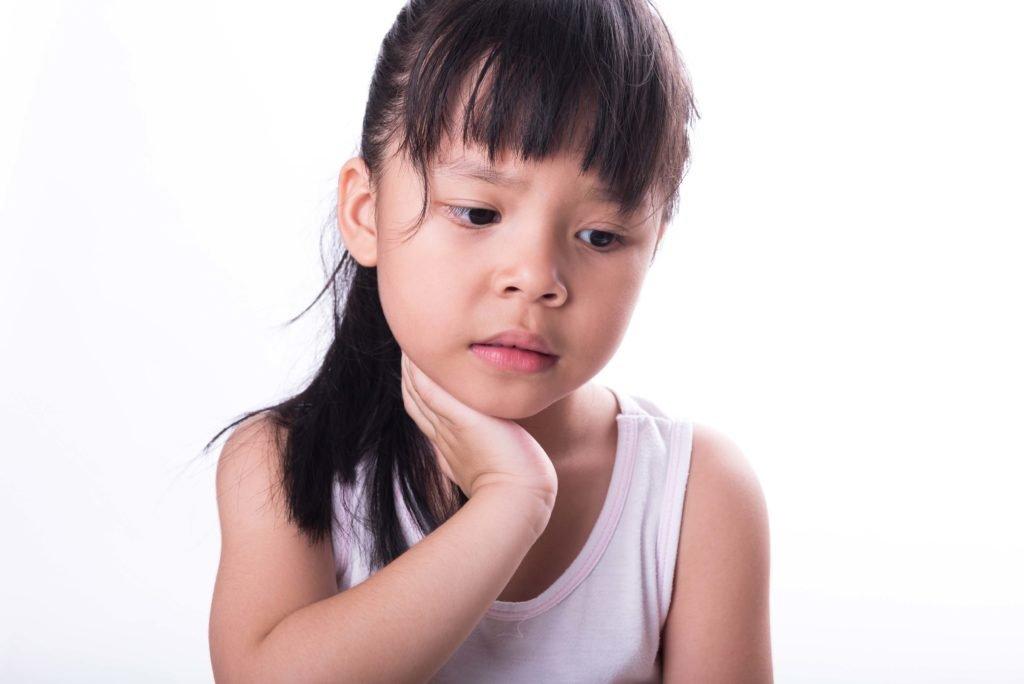 Симптомы увеличения подчелюстных лимфатических узлов