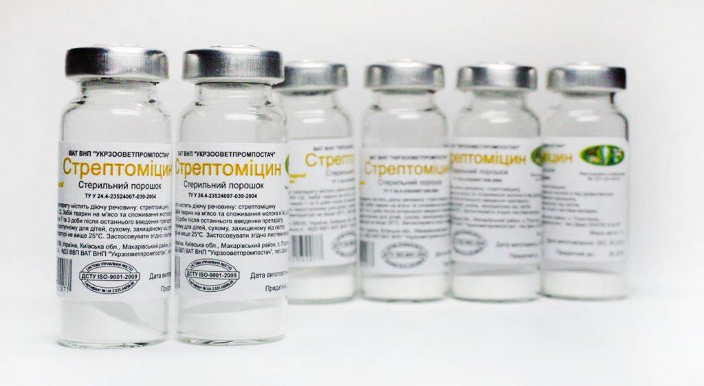 Стрептомицин при воспалении лимфоузлов