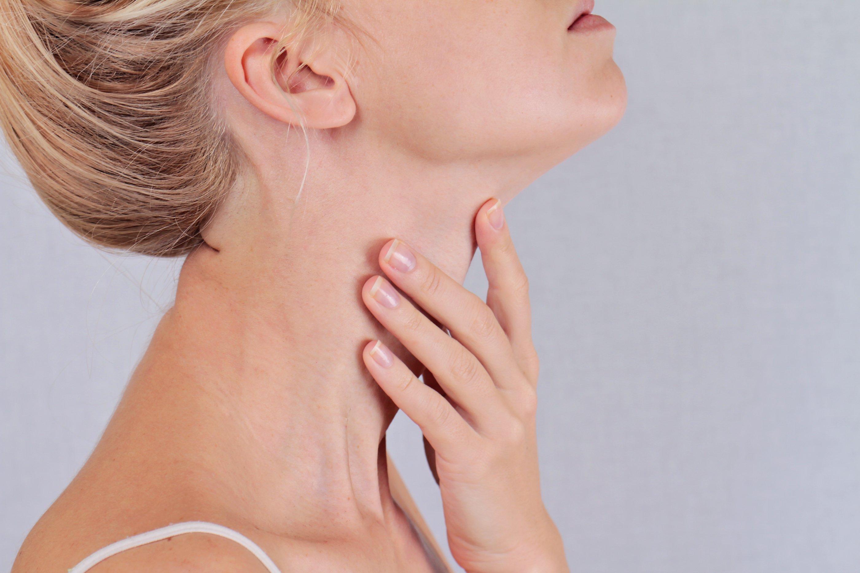 Повод для визита к врачу при болях в региональных лимфоузлах щитовидной железы