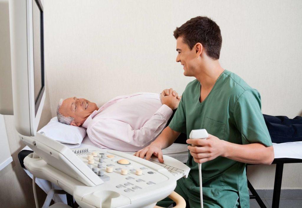 УЗИ-диагностика при лимфаденопатии паховой области у мужчин