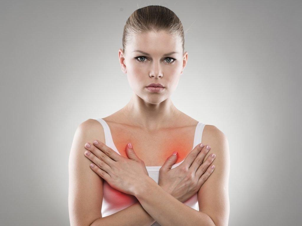Болят подмышечные лимфоузлы