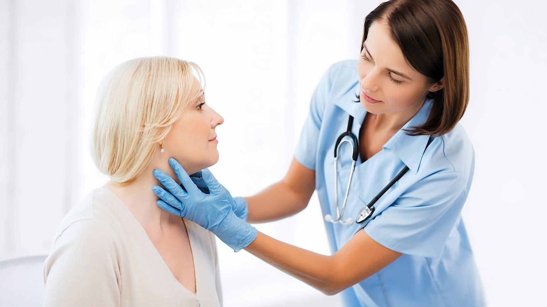 Особенности региональных лимфоузлов щитовидной железы