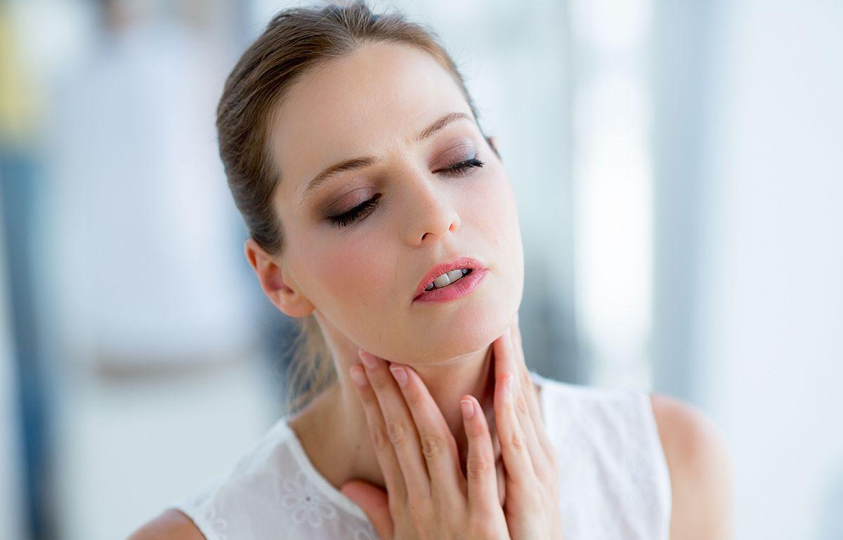 Опухли миндалины в горле как лечить взрослых