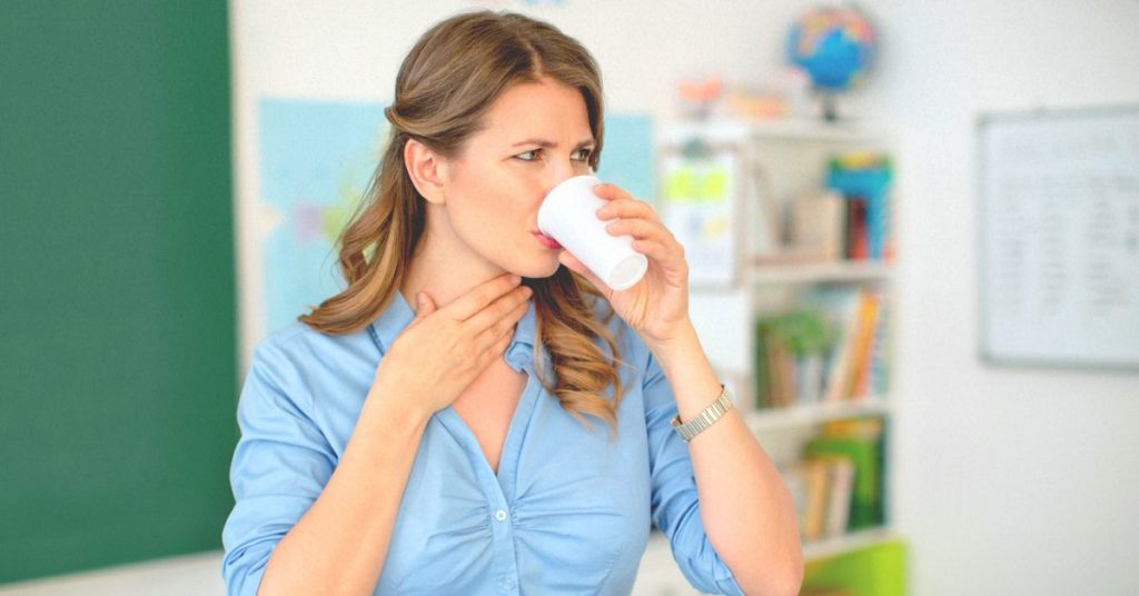 Симптомы язвы на гландах