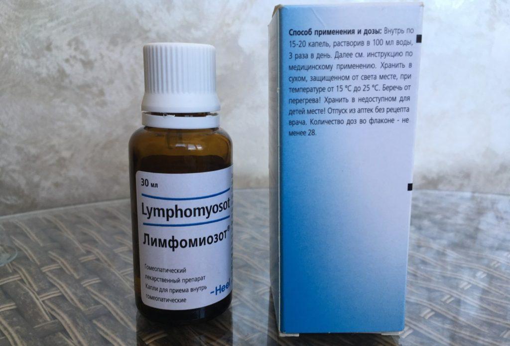 Лимфомиозот при аденоидах у детей