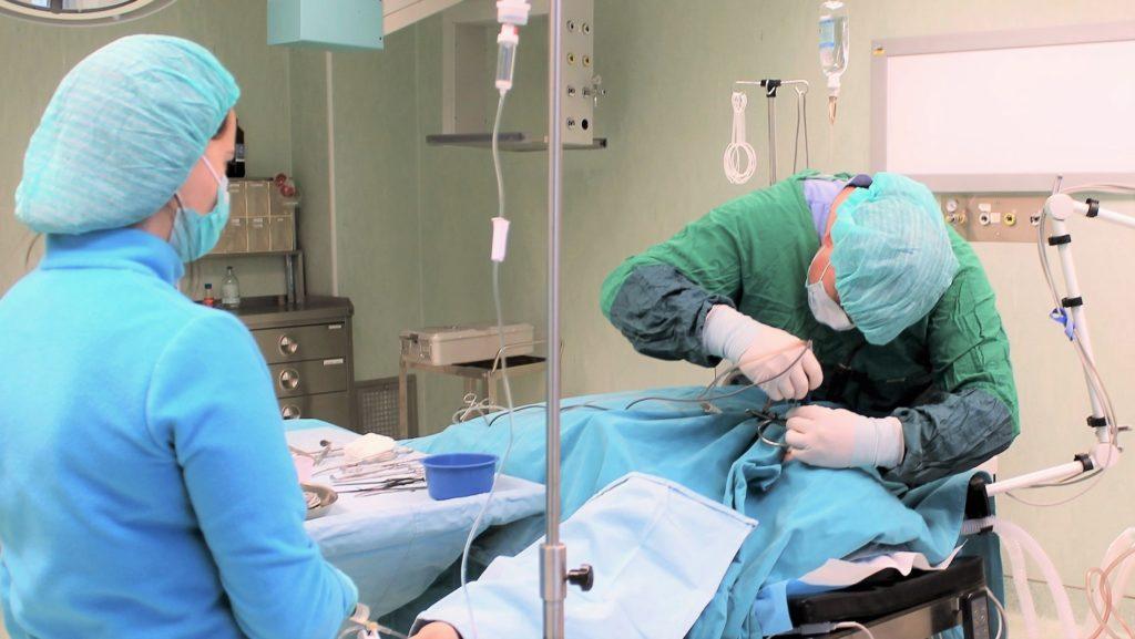 Классический хирургический метод тонзиллотомии