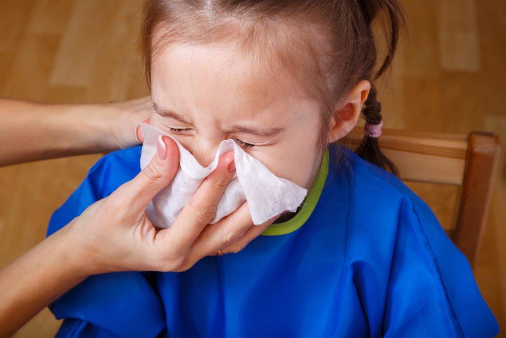 Хроническое воспаление аденоидов у ребенка