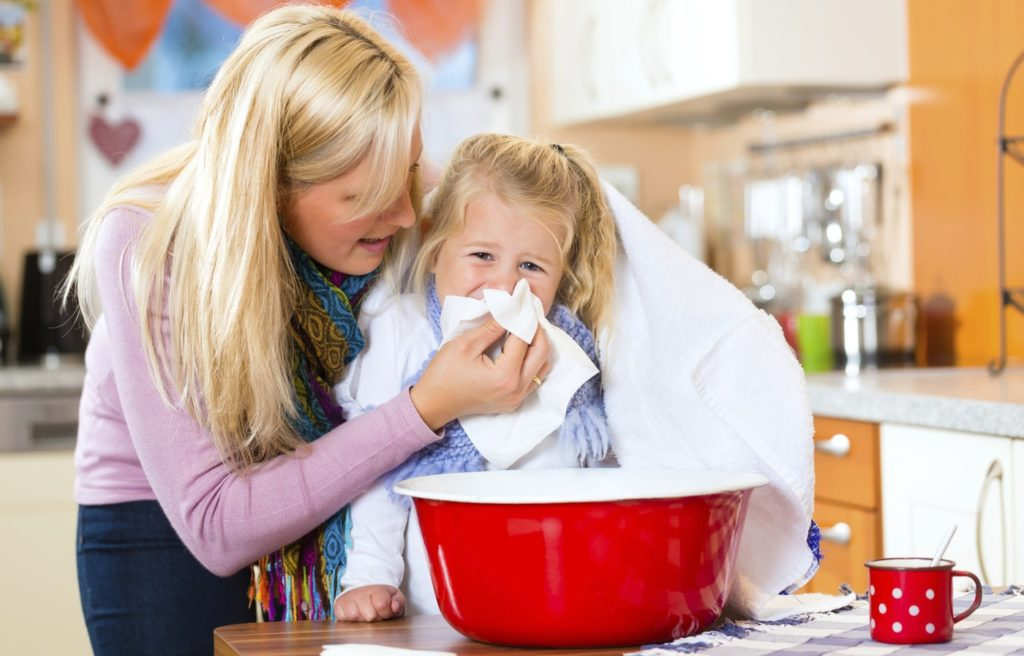 Ингаляции маслом туи при аденоидах у детей