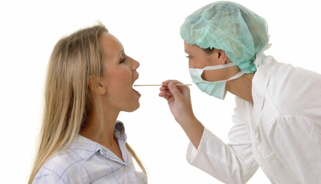 Лечение крови на гландах