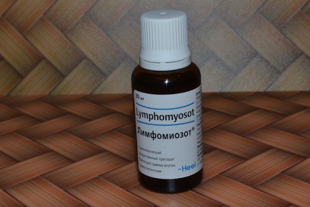 Лимфомиозот при аденоидах у детей: дозировка и особенности применения капель