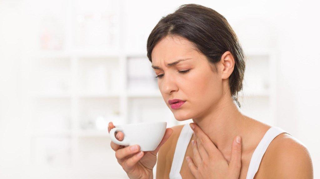 Симптомы кисты на миндалине