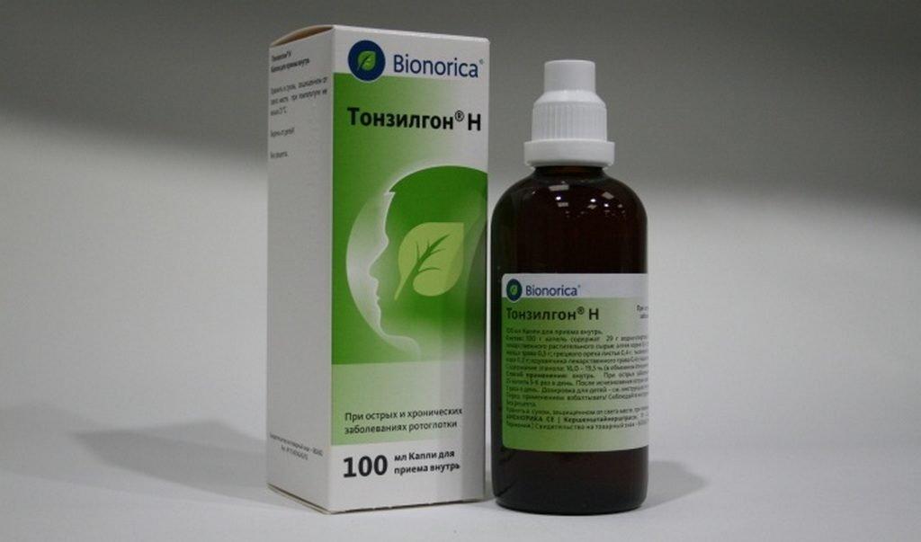 Как применять препарат «Тонзилгон» при аденоидах у детей