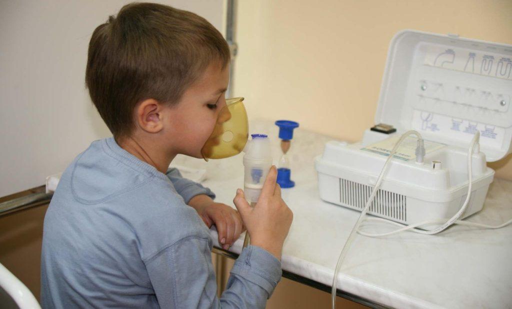Ингаляции при аденоидах у детей
