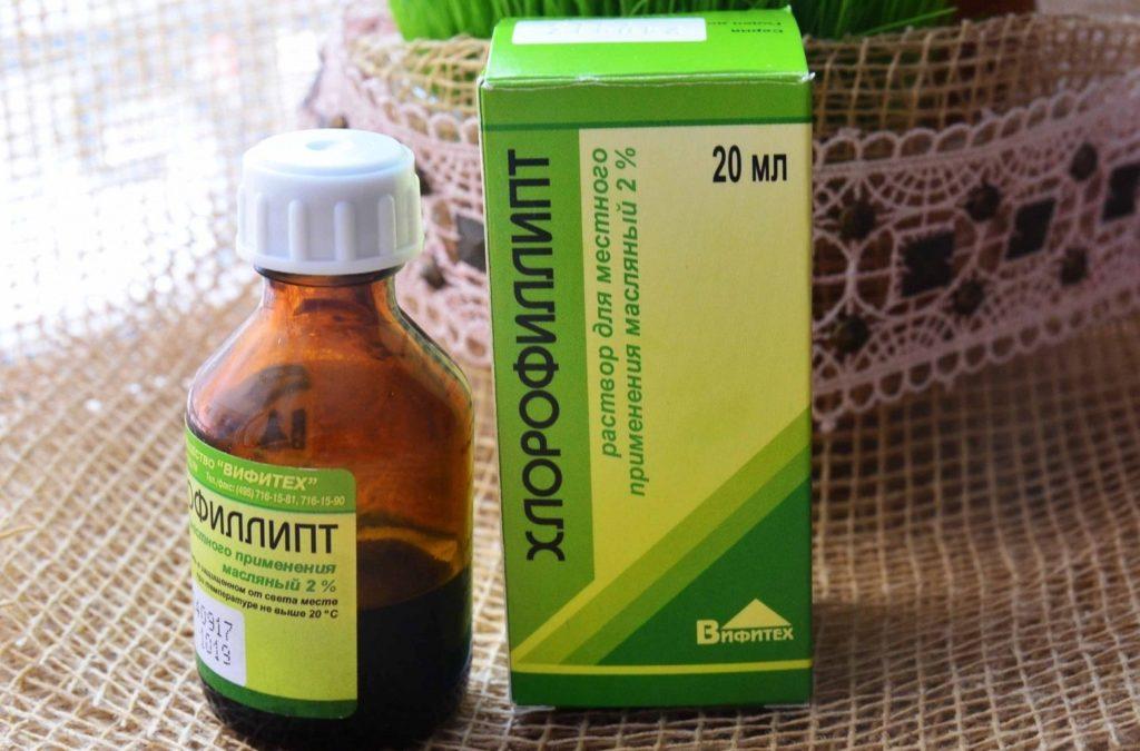 Хлорофиллипт при аденоидах у детей