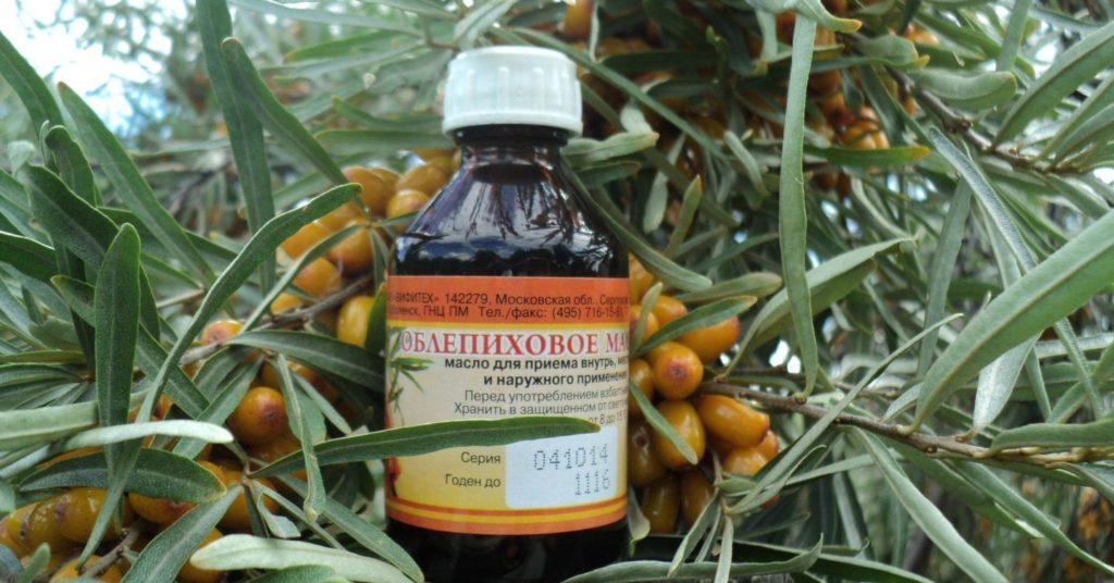 Облепиховое масло при аденоидах