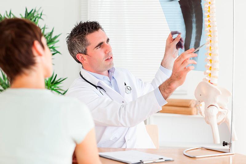изучение рентгена позвоночника
