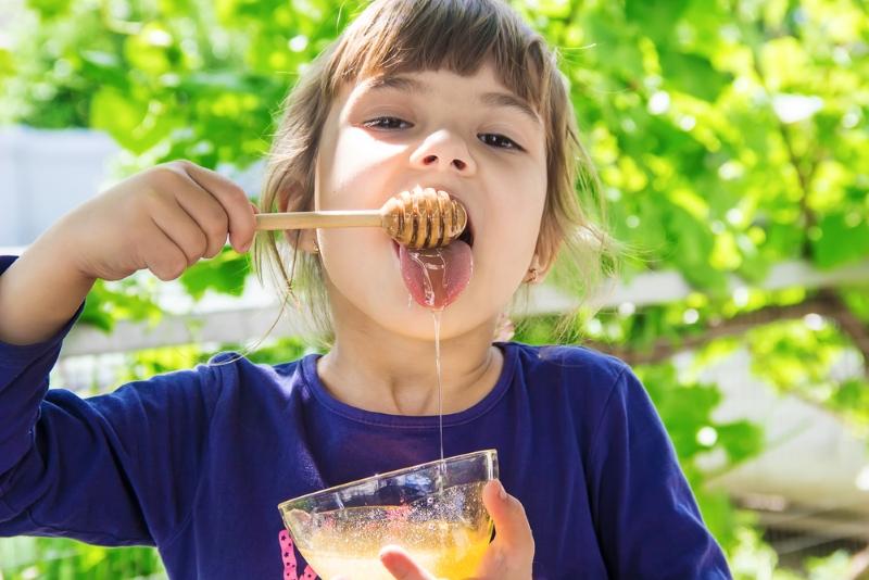 мед для детского иммунитета