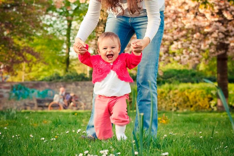 прогулка ребенка для иммунитета