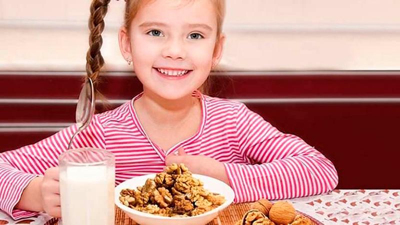 орехи - продукт, повышающий иммунитет у детей