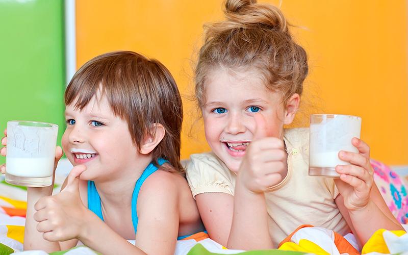 молочные продукты для детского организма